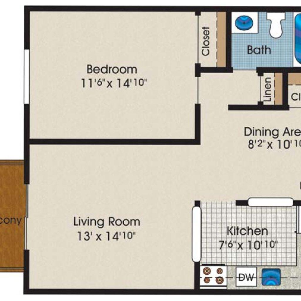 Floor Plans Highland House Apartments